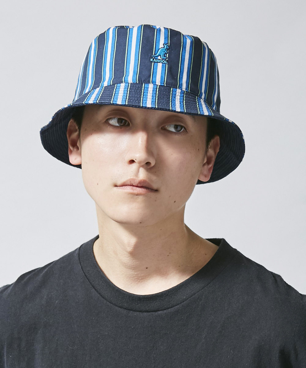 KANGOL Double Pattern Bucket