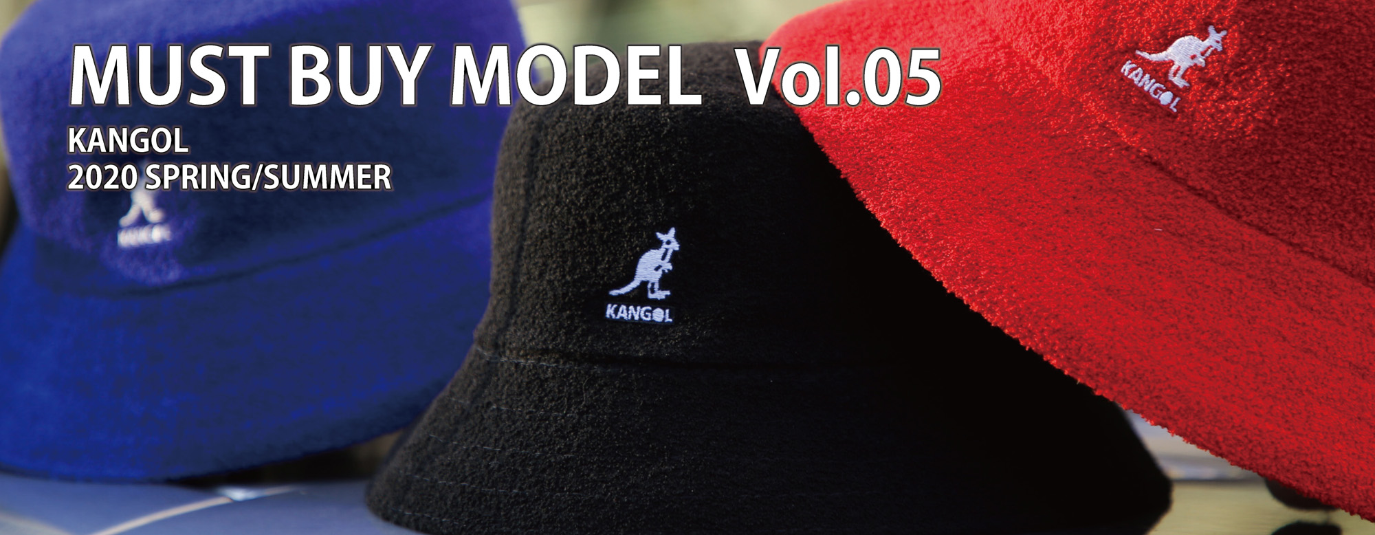 KANGOL 2020 Spring & Summer